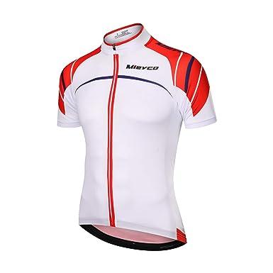 XER 100% Polyester Cycling Jersey Road Bike Shirt Short Sleeve Breathable  (M) d2daa0b67