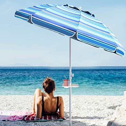 PIEDLE Portable Beach Umbrella