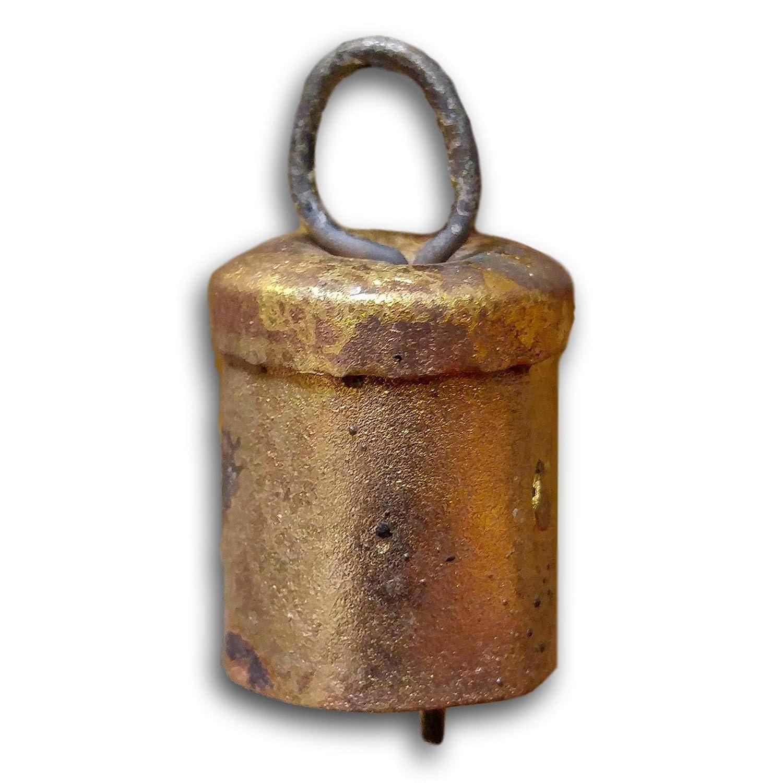 One Dozen 1 inch high Tin Bells Metal Striker Wedding Patio Church Bell