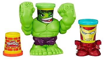 Play-Doh Smashdown Hulk Featuring Marvel Can-Heads  Amazon.co.uk ... 1dd2bbc97ac9