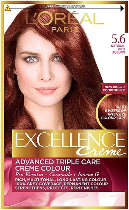 LOréal Paris excelencia Color de cabello Castaño claro ...
