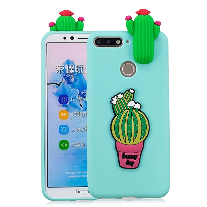 Amazon.com : Ostop Huawei Y6 2018 Case, Huawei Honor 7A Case ...