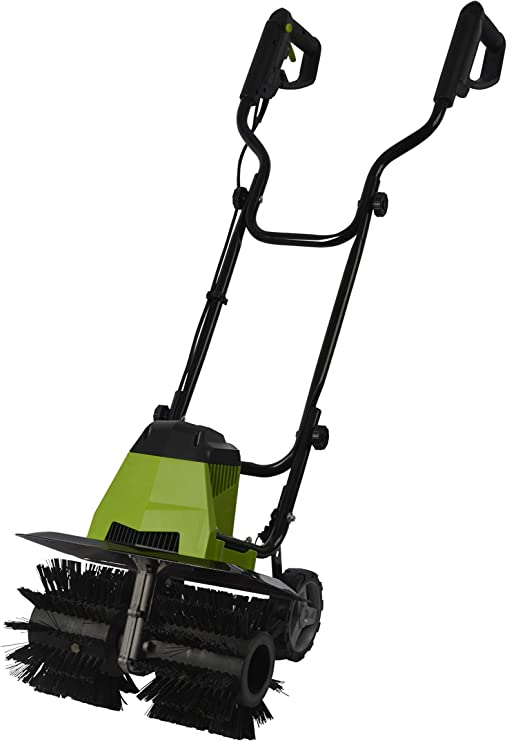 Artificial Grass Power Brush Lawn Sweeper Brush Broom Rake Electric Amazon Co Uk Garden Outdoors