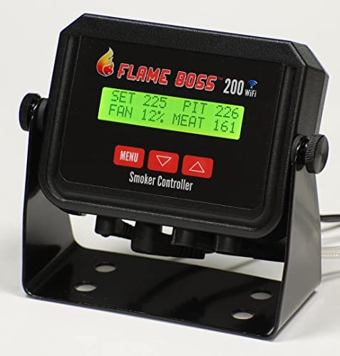 Flame Boss 200 Wi-Fi Kamado Grill & Smoker Kontrola temperaturyler