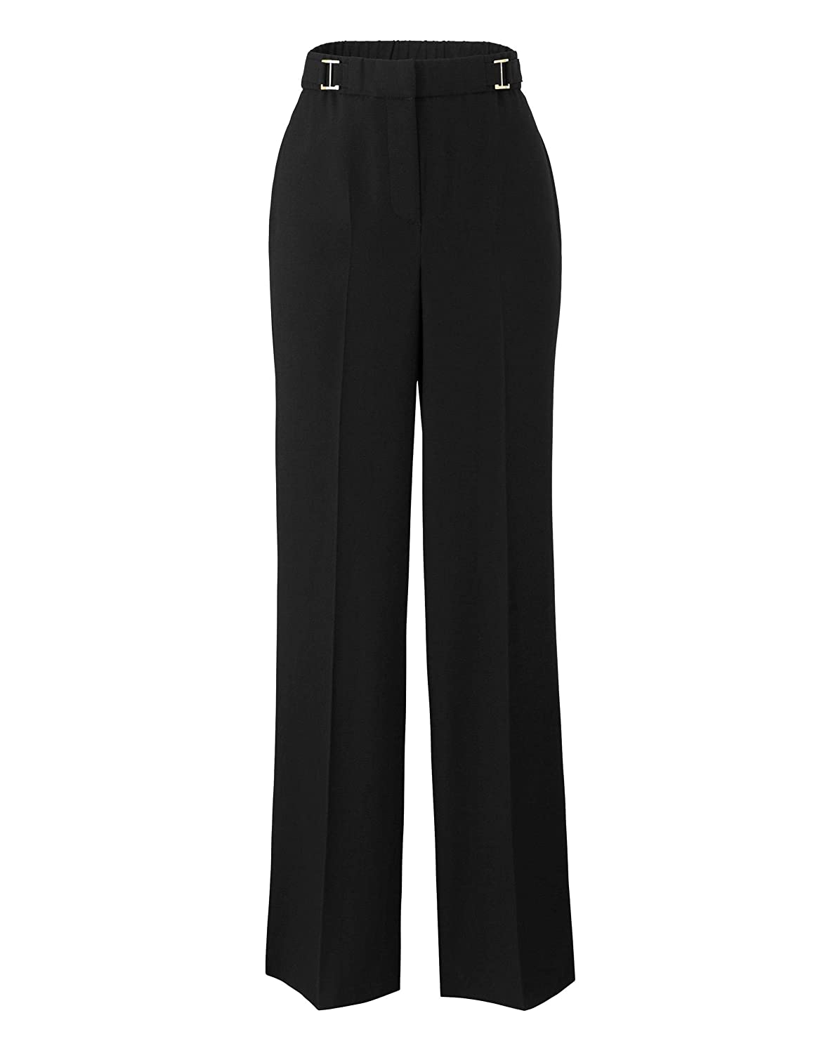 Simply Be Womens Crepe Peg Trousers