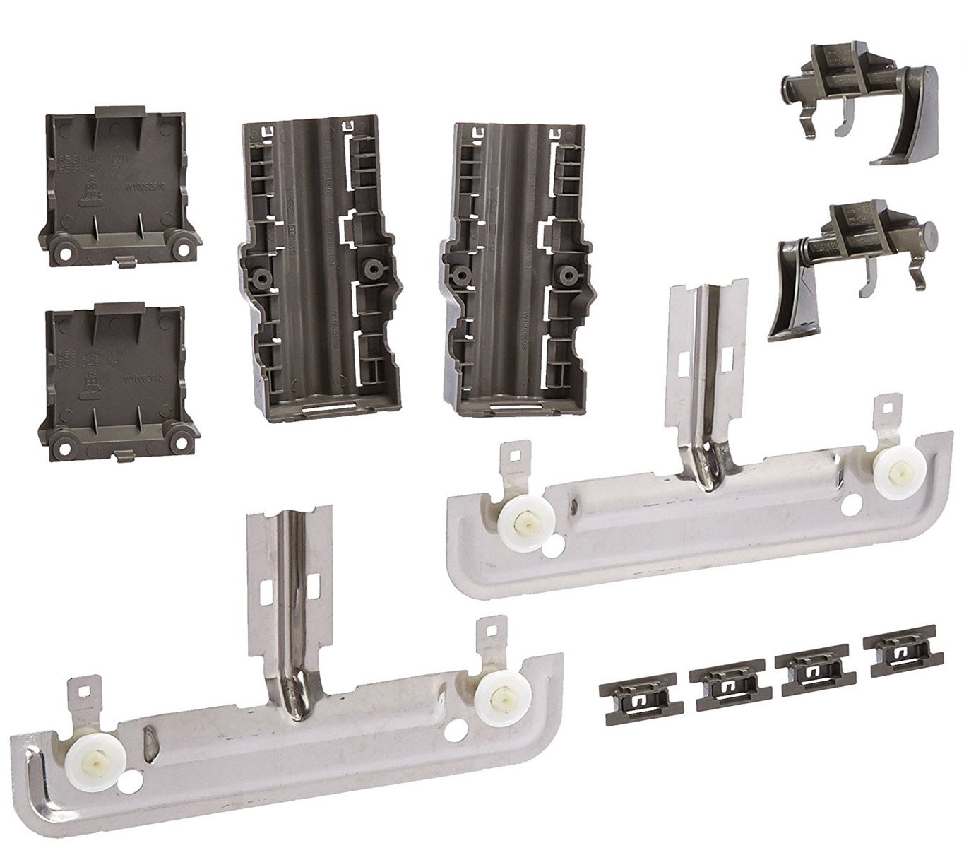 Siwdoy W10712395 Rack Adjuster Kit Compatible with Whirlpool Dishwasher Adjuster PS10065979 AP5957560 W10350375 W10250159