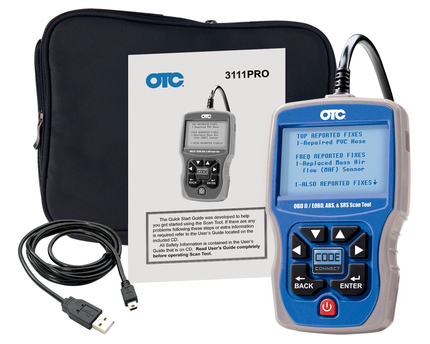 ABS And Airbag OTC 3111PRO Trilingual Scan Tool OBD II CAN