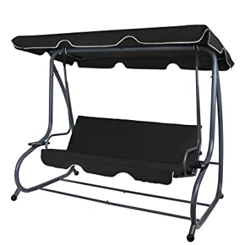 Top Amazon.de: BB Sport 4-Sitzer Hollywoodschaukel klappbar mit CF49