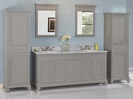 spectacular fairmont designs rustic chic vanity. Fairmont Designs 1504 V7221D Smithfield 72 quot  Double Bowl Vanity in Medium Gray