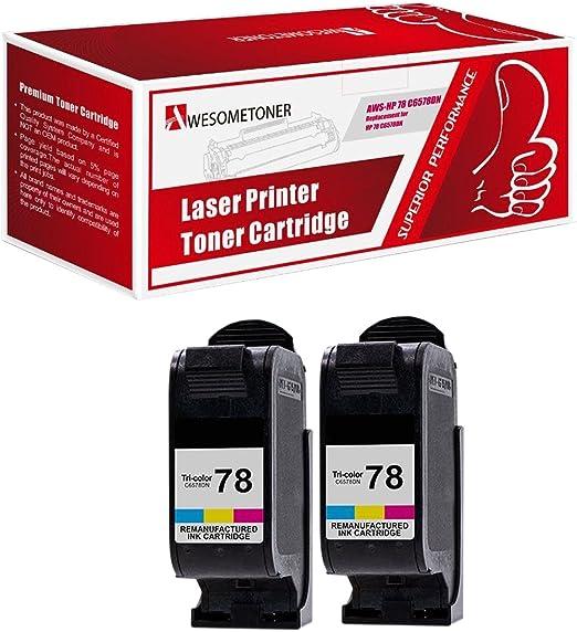 CompAndSave Replacement for HP DeskJet 960C Printer Inkjet Cartridge HP 78 C6578D Color Ink Cartridge