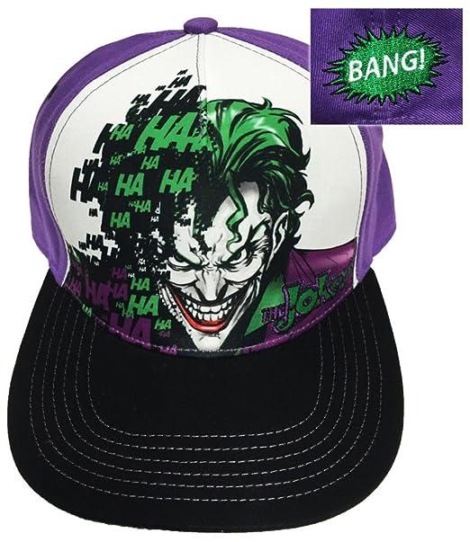 Amazon.com  Joker- Sublimated Snapback Hat Size ONE SIZE  Clothing e7d4a190039