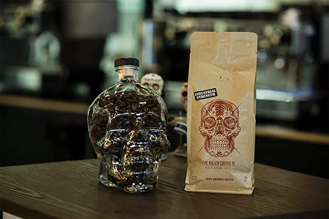 Killer frijoles de café Co – 16 oz Craft Bolsa De Papel ...
