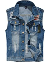 Eternal Women Casual Cotton Sleeveless Jeans Denim Vest Jacket Outerwear Clothes