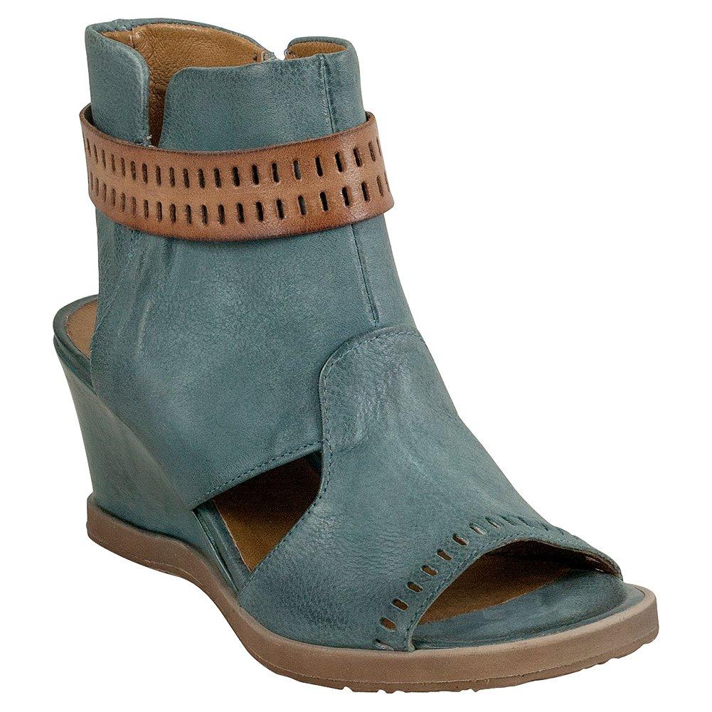 Miz Mooz Brianne Women's Sandal Wedge B0796XP85X 38 M EU Sky