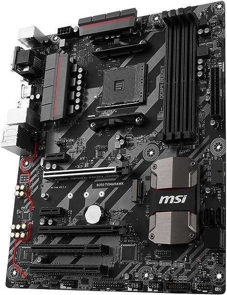 Msi B350 Tomahawk Mainboard Schwarz Computer Zubehör