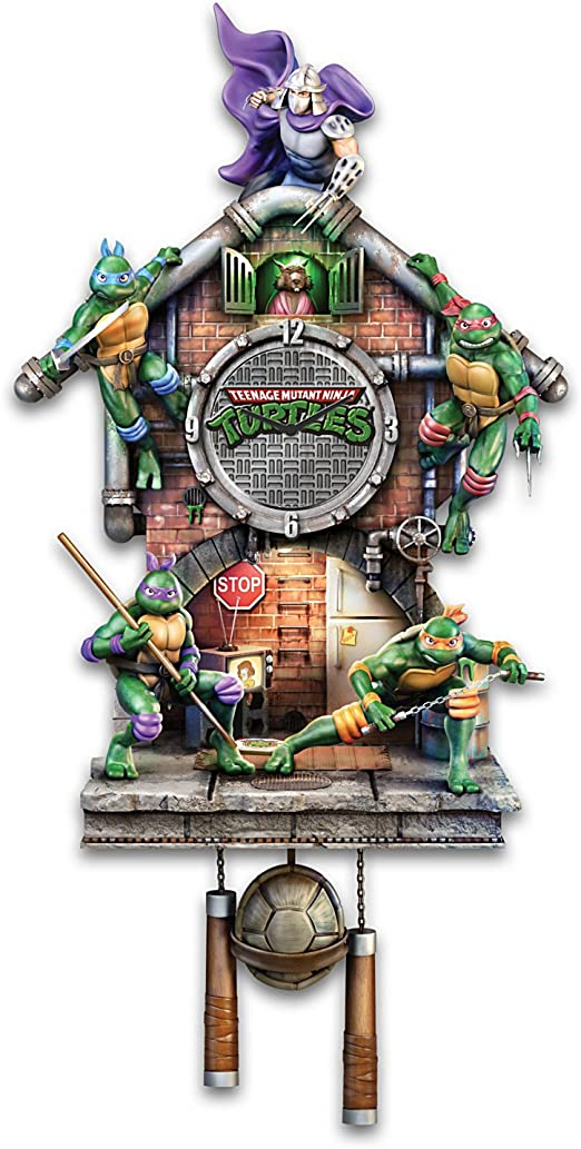 Amazon.com: teenage mutant ninja turtles iluminado reloj de ...