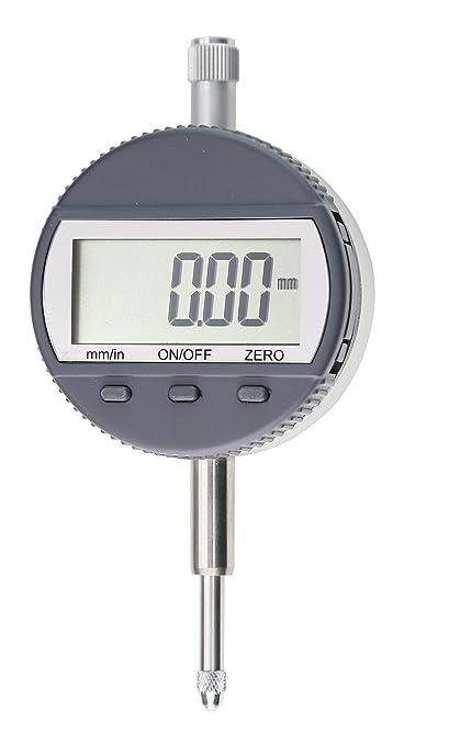 Digital reloj comparador, rango de medición 12,7 o 25 mm, lectura de