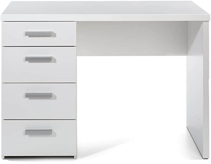 Tvilum 8012049 Whitman Desk, White by Tvilum