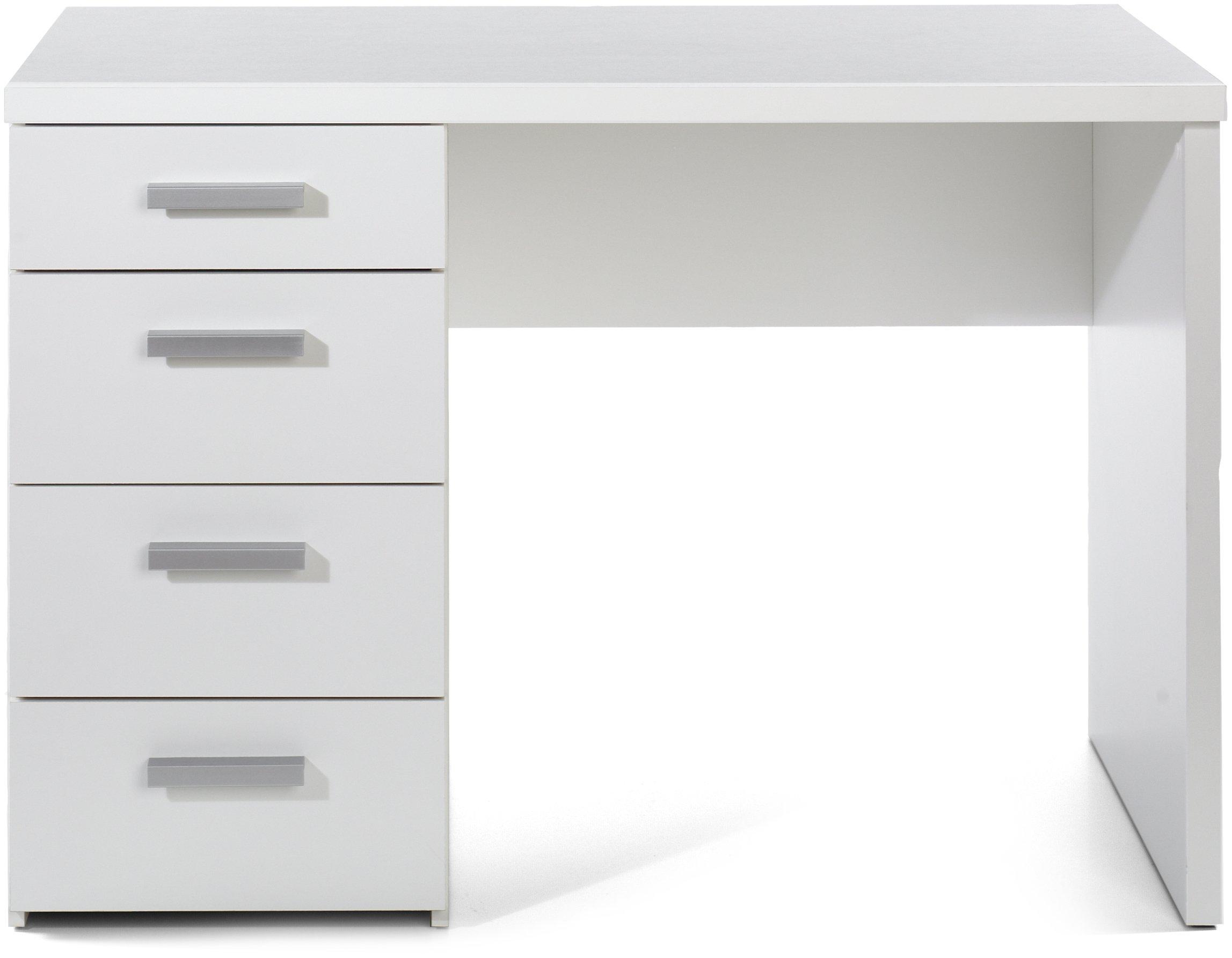 TVILUM 8012049 Whitman Desk, White - White Whitman Home Office Scratch resistant, easy to assemble - writing-desks, living-room-furniture, living-room - 71Ia9T0 vEL -