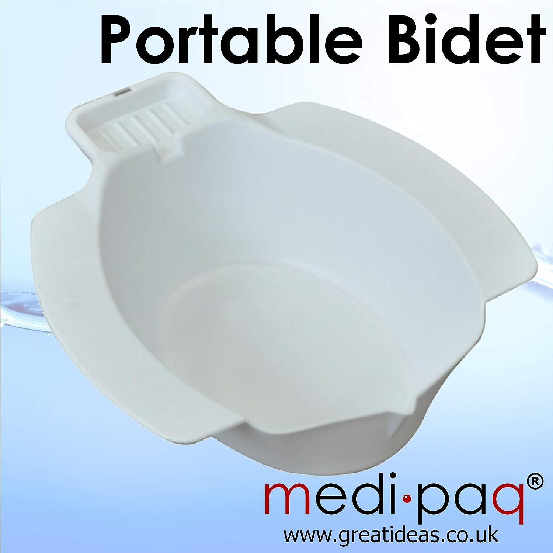 Medipaq 2X Portable Personal Washing Bidet Bowl Toileting Aid