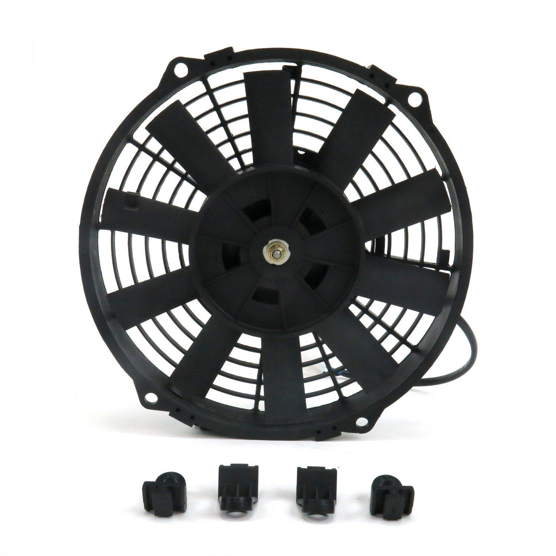 Zirgo 10213 8'' 605 fCFM High Performance Blu Cooling Fan