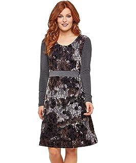 Joe Browns Womens Daisy Print Floral Jersey Dress