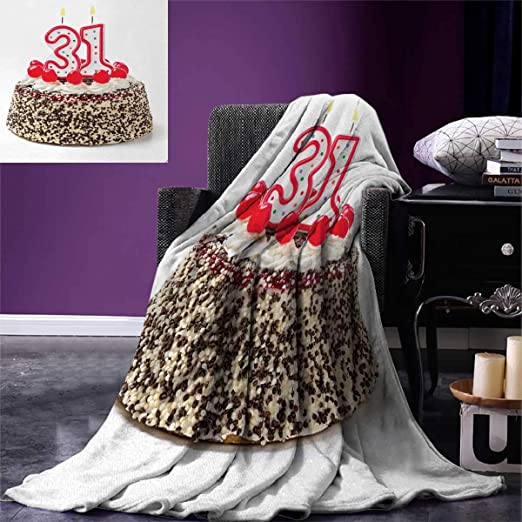 Manta de cumpleaños para 30 cumpleaños de la marca Smbeefly ...
