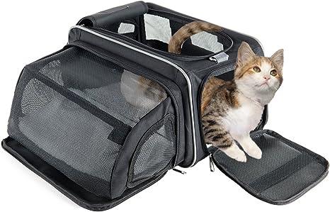 Fypo Transportín Plegable para Gato Perrito 40 * 23 * 23cm para ...