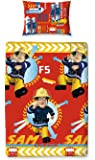 Character World Fireman Sam Alarm Single Rotary Duvet Set