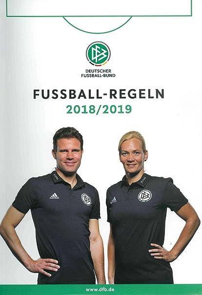 Dfb Fussball Regelheft Amazon De Sport Freizeit