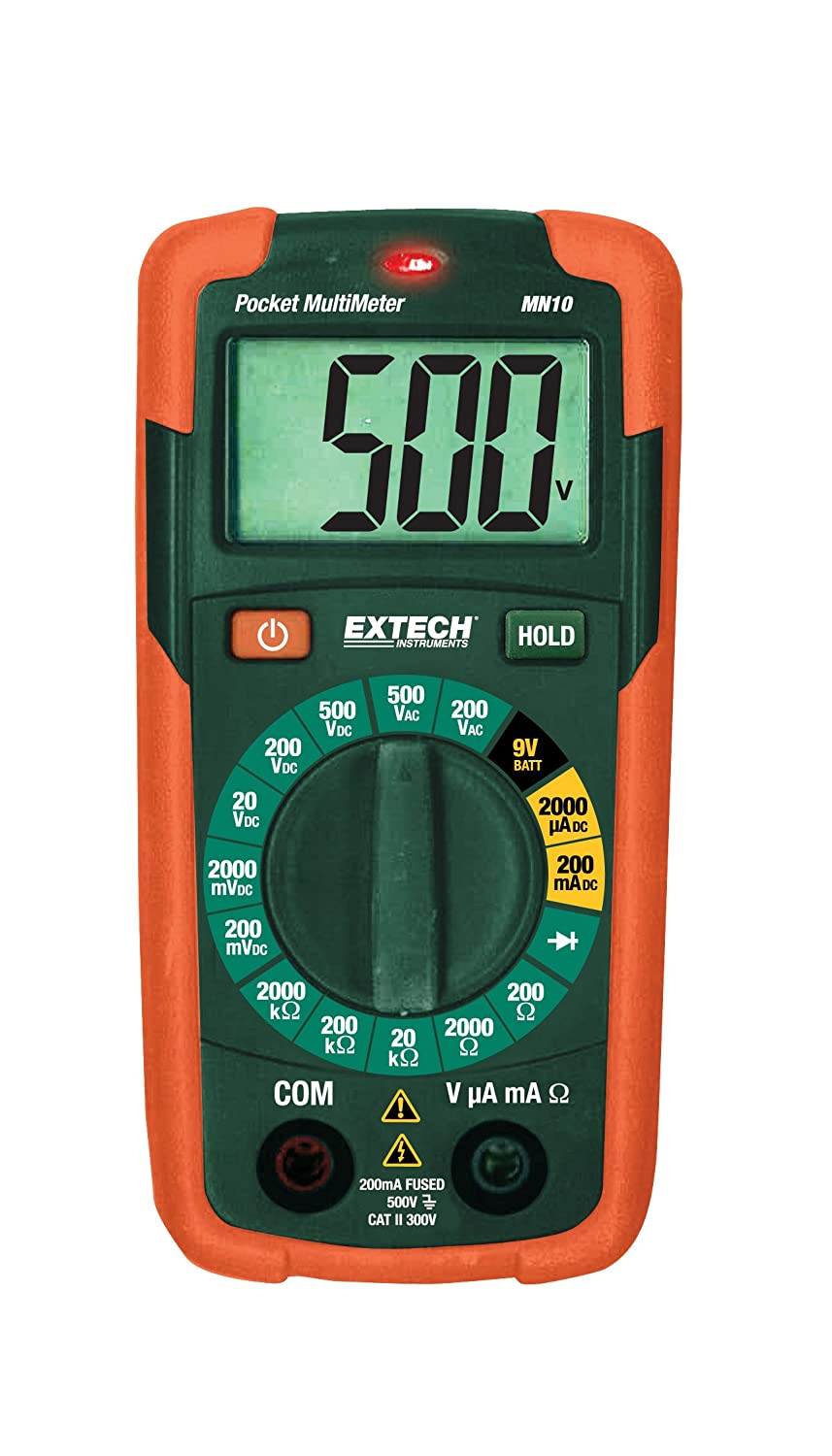 Extech MN10 Pocket Multimeter FLIR Systems