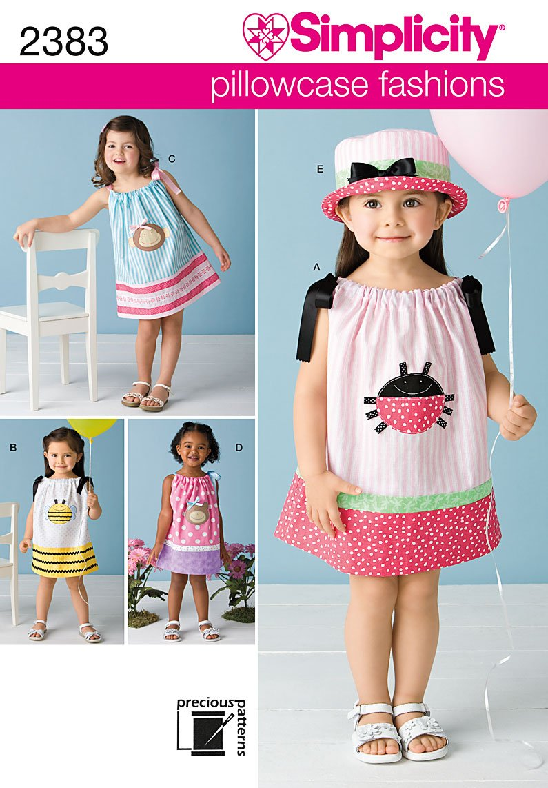 Amazon simplicity sewing pattern 2383 toddlers dresses a 1 amazon simplicity sewing pattern 2383 toddlers dresses a 12 1 2 3 4 arts crafts sewing jeuxipadfo Choice Image