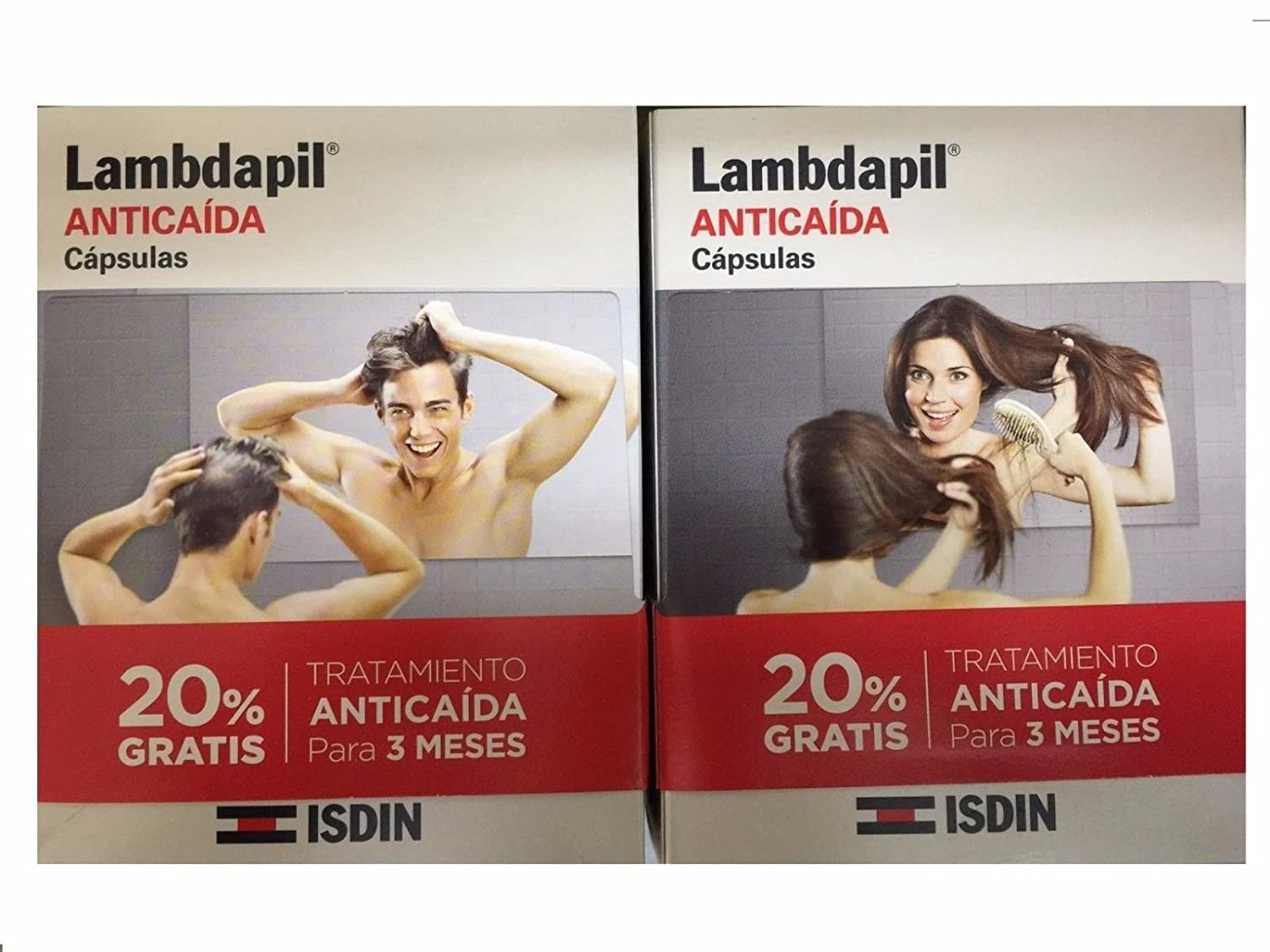 Amazon.com: ISDIN LAMBDAPIL ANTICAIDA 180 capsulas MINESKIN TREATMENT: Beauty