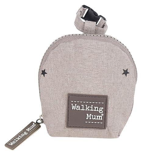 Walking Mum Gaby - Funda para chupete, color gris