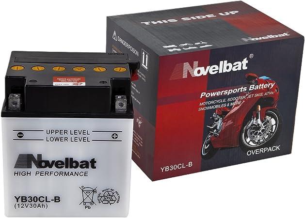 Novelbat Yb30cl B Motorradbatterie 12v 30ah 300a Auto
