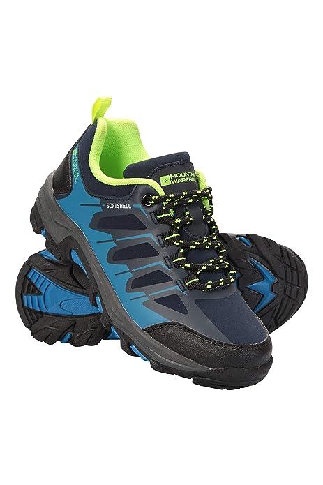 Mountain Warehouse Zapatillas Softshell para niños - Zapatillas Resistentes, Zapatillas de montaña con Empeine Transpirable, Zapatillas con Forro de Malla ...