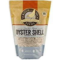 Scratch and Peck Feeds Cluckin' Good Oyster Shell Supplement for Chickens and Ducks - 4-lbs - 9300-04