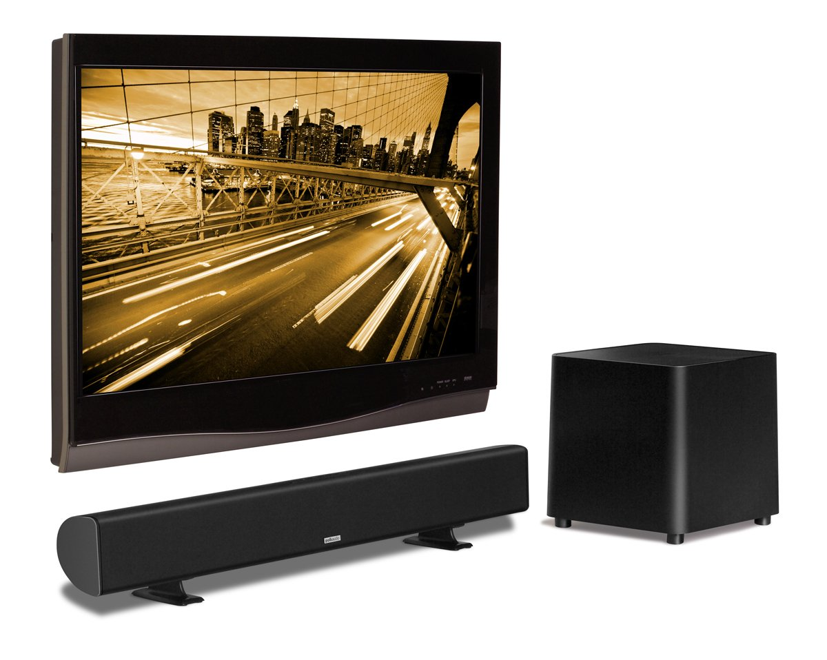 Amazon.com: Polk Audio AM1805 SurroundBar SDA Instant Home Theater (Black): Home Audio & Theater