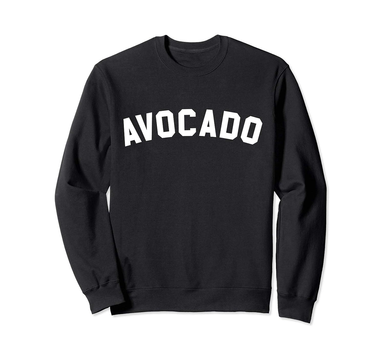 Avocado Sweatshirt – Athletic Gym Text Print-Awarplus