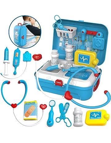 Pretender Maletín de Médico, Mochila Enfermera para Juego de Rol para Niños 3 Años,