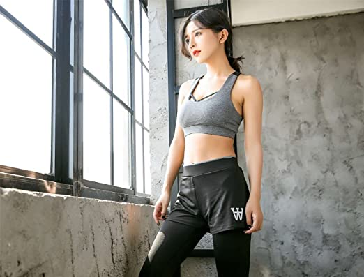 20e95b55a71 Ottertooth Sport Suits Sports Bra Yoga Pants Gym Outfits Breathable  Exercise Bra and Leggings for Women