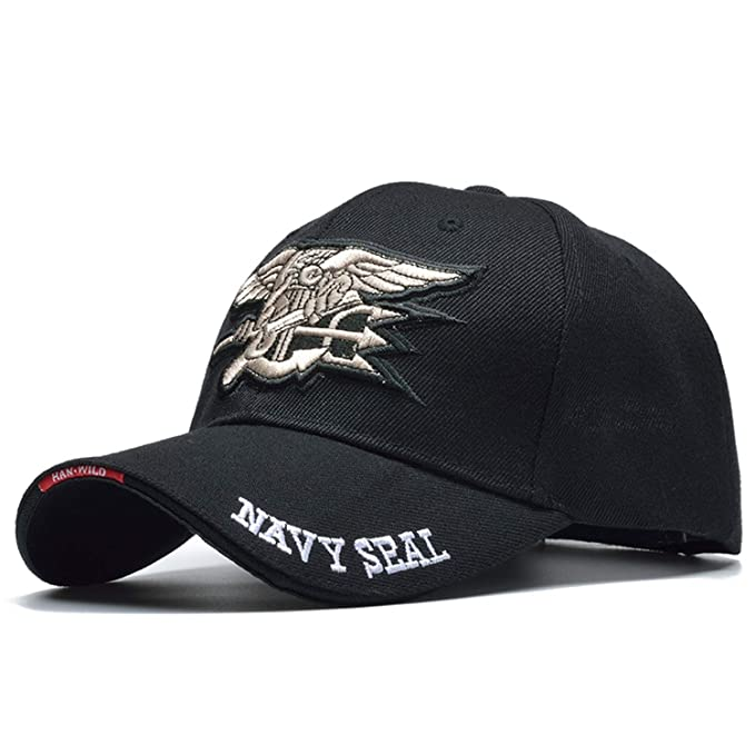 Fashion Male Us Navy Seal Cap Air Soft Tactical Bone Gorras Baseball Caps Army Hat Black