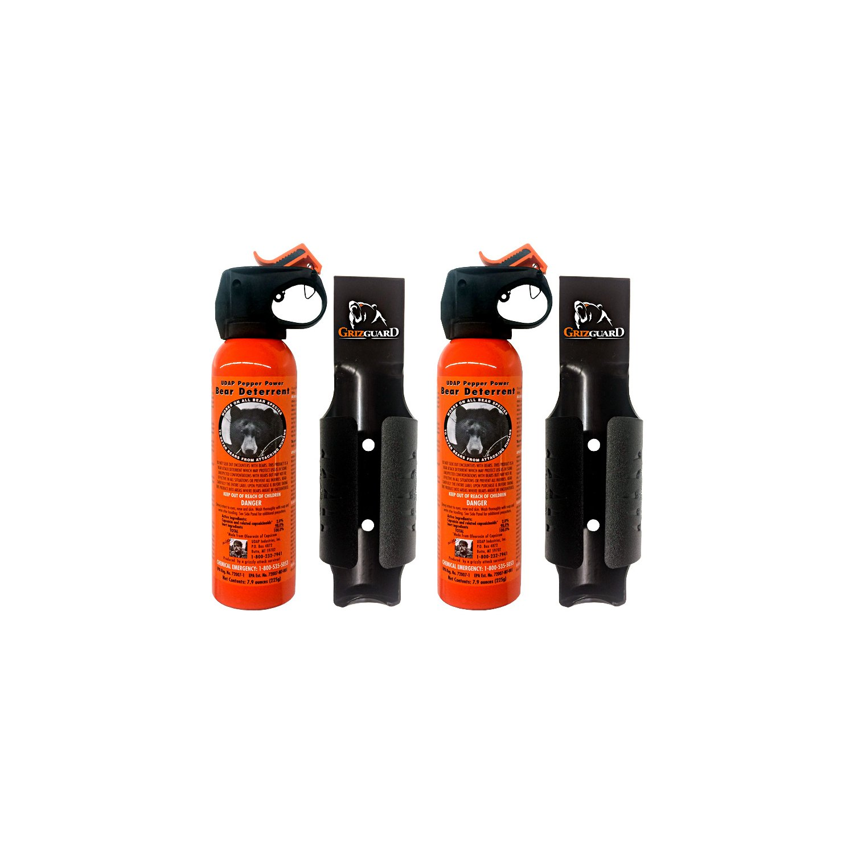 Udap Bear Spray Safety Orange Color Griz Guard Holster (2 Pack) by Udap (Image #1)