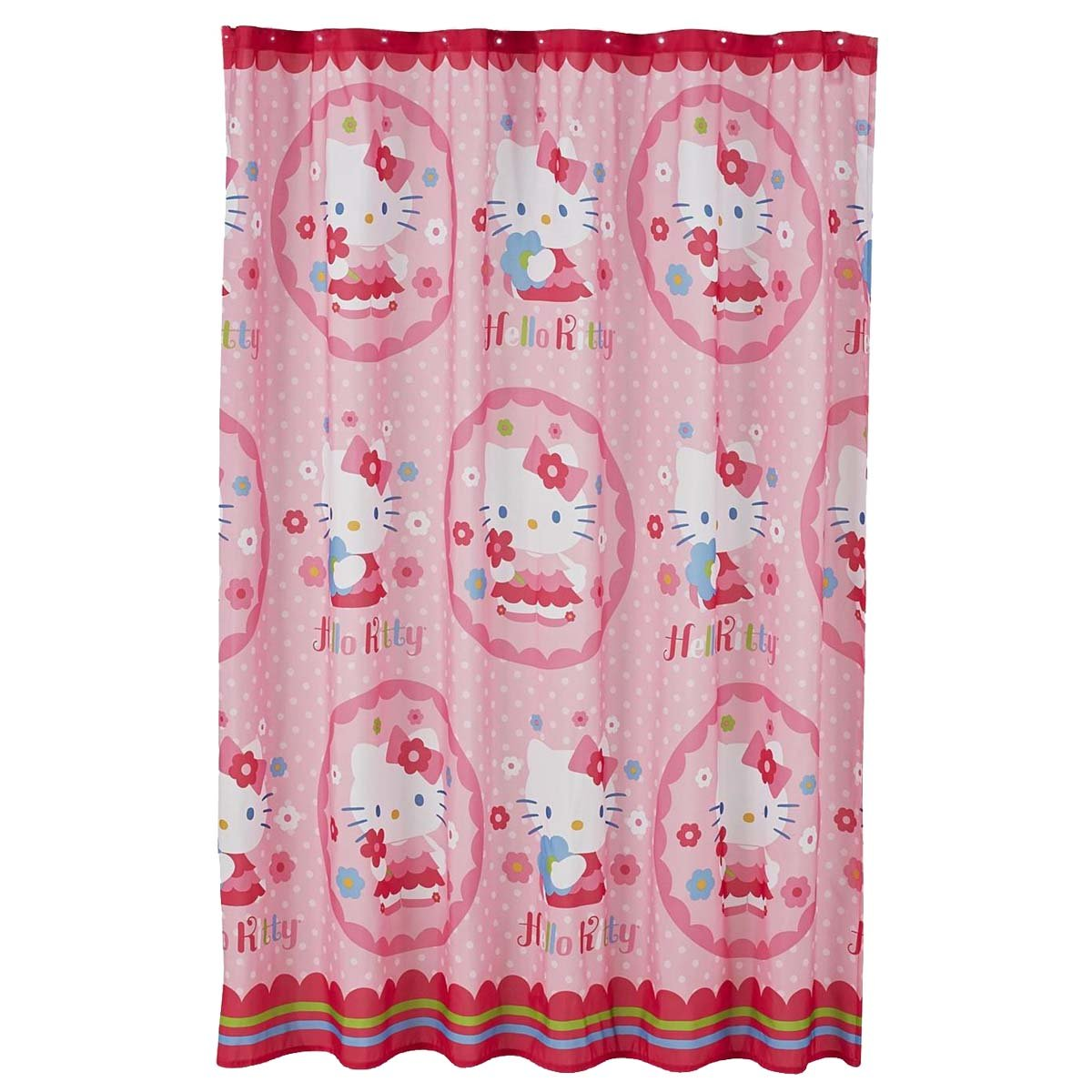 b jtyscoo wallpaper hello kitty bathroom curtain of laptop hd pics fabric shower curtain by sanrio home