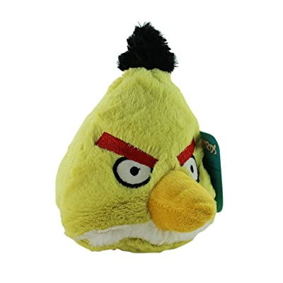 Yellow Angry Birds Plush - Yellow Angry Bird Stuffed Character: Toys & Games [5Bkhe0404489]
