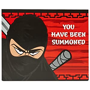 Birthday Express Ninja Warrior Party Supplies - Invitations (8)