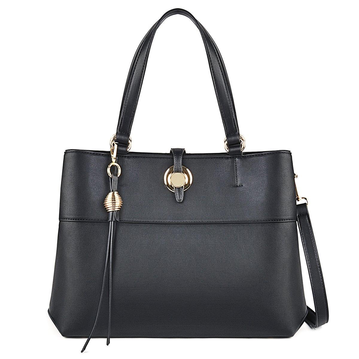 COOFIT Lady Purses and Handbags Little Bow Leisure Top-Handle Bags Shoulder Bag Purse (Handbag Balck)
