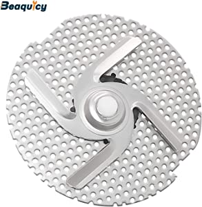 W10083957V Dishwasher Food Chopper Blade Assembly by Beaquicy - Replacement for Amana LG Jenn Air Kenmore Whirlpool - Replaces W10083957, W10083957VP, PS11722146