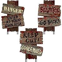 Beware Signs Yard Stakes