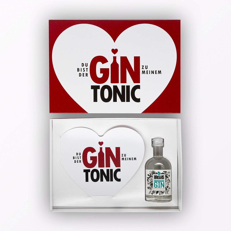 Creative Tops Little Breaks Gin Tonic - Juego de 3 tarjetas de felicitación (en estuche regalo), diseño de corazón: Amazon.es: Oficina y papelería